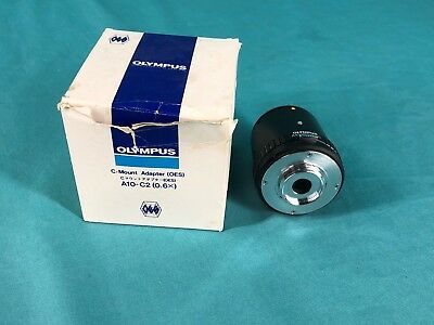 OLYMPUS A10-C2 (0.06x) C-Mount Adapter OES / Endoscope Coupler