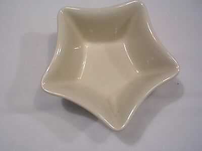 Longaberger Pottery Small Star Dish - Heritage Green - Made In USA