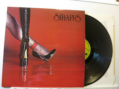 Strapps - Strapps (s/T) LP + Hardcover Innersleeve 1976 Harvest England NMint