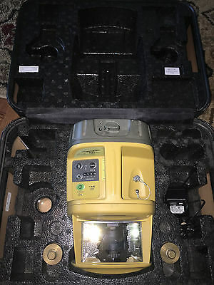 Topcon PZL-1 MMGPS Transmitter with Charger and Case NICE!