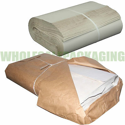 """White Packing Paper Chip Shop Paper Newspaper Offcuts Large 20 x 30"""" Sheets"""
