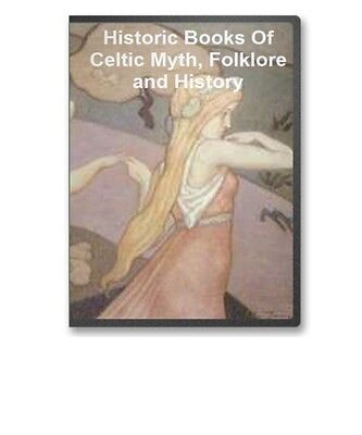 44 Celtic / Druid Irish Mythology Folklore Legend Superstition Books on CD B47