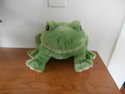 Vintage Frog 24K Polar Puff 1994 Stuffed Toy Animal Collectable Piece Large