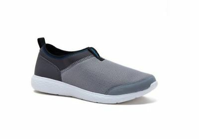 And1 Men's Pivot Mesh Slip On Athletic Shoe Walking Sneaker Gray Sz 7.5