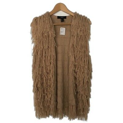 Forever 21 Fringe Vest Woman Size S NWT