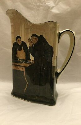 Early 20th Century Royal Doulton Monk Whiskey Jug Rd.No.466627.Date c1906
