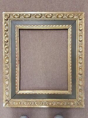 """Vintage Antique Wood Gold/Red/Brown Ornate Picture Frame Fits 13"""" x 16 1/2"""""""