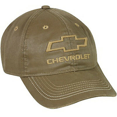 Cap - Chevy® Logo Weathered Cotton Twill Hat Chevrolet Gen10A Adult