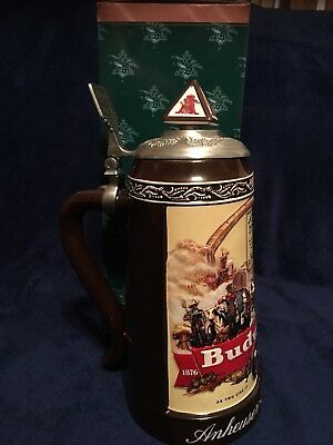 Anhueser-Busch Collectors Club CB24 Historical Advertising 1936 Stein