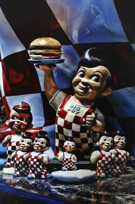 Bob's Big Boy Collection Metal Sign
