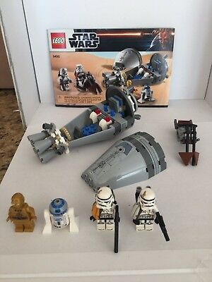 Star Wars Lego 9490 Droid Escape 100 Complete With Box And Mini