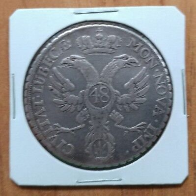 Germany 1752 Lubeck Thaler of 48 schillings