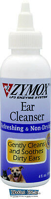 Zymox Ear Cleanser Pet Dog Cleansing Treatment Non Toxic Bio-Active Enzymes 4 oz