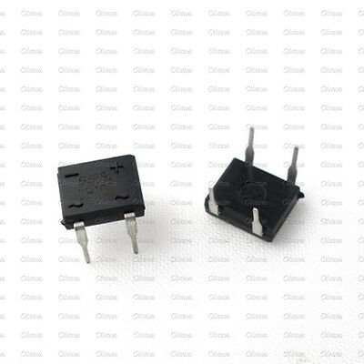 10PCS DB107 DB107G 1A 1000V Single Phases Diode Rectifier Bridge DIP-4