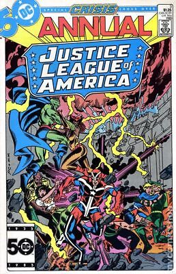 Justice League of America (1st Series) Annual #3 1985 NM Stock Image