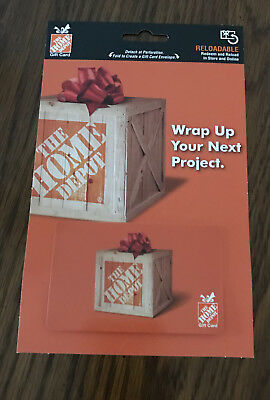 Home Depot Gift Card $500 Value New Trusted Seller Free Shipping
