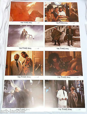 Robin Williams THE FISHER KING Movie Jeff Bridges Original Lobby Card Set 8 1991