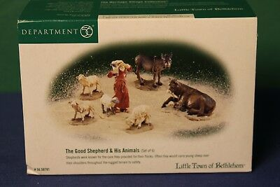 Department 56, Little Town of Bethlehem, The Good Shepherd and His Animals