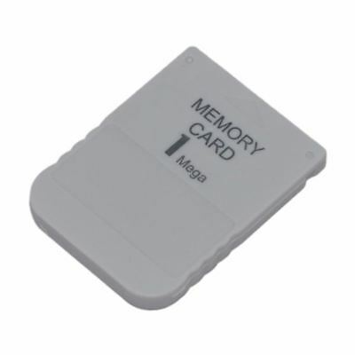 for Sony PS1 PSX PS One Playstation 1 MB 1 Mega 15 Block Memory Card New