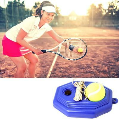 Tennis Ball Back Base Trainer Set Rubber Band Single Training Practice RubberNew