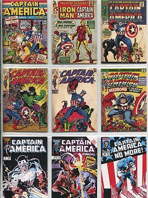 Captain America The Movie Complete Comic Covers Chase Card Set C1-13