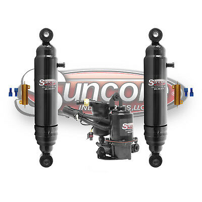 Active to Passive Gas /& Air Shock Conversion Kit for 07-13 Cadillac Escalade EXT