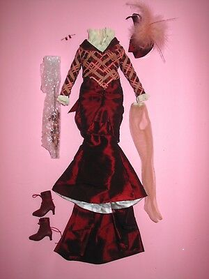 "Tonner - Cinderella - Hortencia's Day Stroll 16"" Plus Size Fashion Doll OUTFIT"