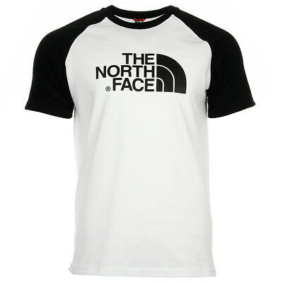 04e9faa3e2 Vêtement T-Shirts The North Face homme Raglan Easy Tee taille Blanc Coton