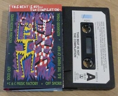 Cassette K7 Tape This Beat Is Hot...The Compilation EPIC Holland 468281 4