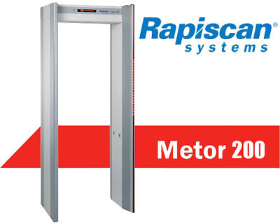 Rapiscan Metor 200 Walk Through Metal Detector