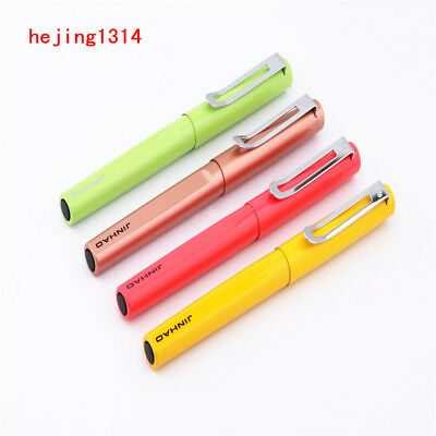 Luxury 8 colour Jinhao 588 Metal Student school office stationery Fountain Pen