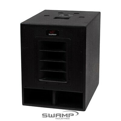 "SWAMP 500W RMS / 1000W MAX - 15"" Active SUBWOOFER / Powered Sub - 15 inch"
