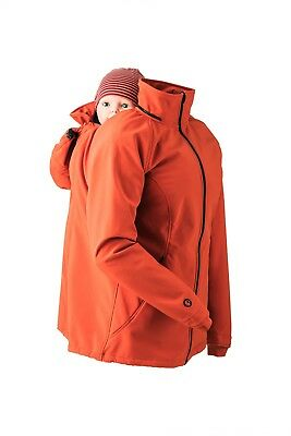 Mamamila Babywearing & Pregnancy Jacket/Coat Orange
