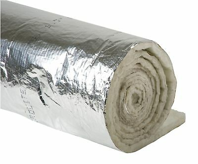 Johns Manville Duct Insulation, 1-1/2In x 48In x 25Ft - 670378
