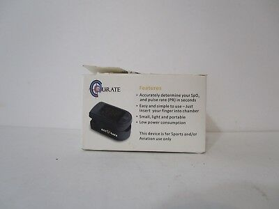 Accurate Finger Pulse Oximeter CMS 500 DL black LED Display, NEW FREE SHIPPING!