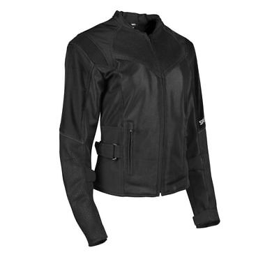 Speed and Strength Women's Sinfully Sweet Mesh Jacket Black S *1101-1202-0052