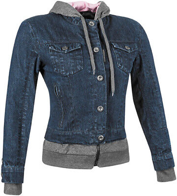 Speed and Strength Women's Fast Times Textile Jacket Blue Sm *871178