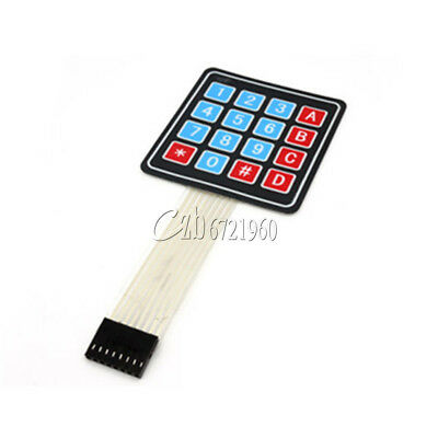 5PCS 4 x 4 Matrix Array 16 Key Membrane Switch Keypad Keyboard for Arduino AVR C