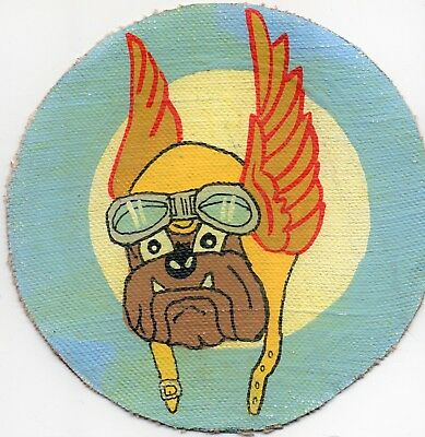 WWII era 355th Fighter Squadron RKO Studio Patch