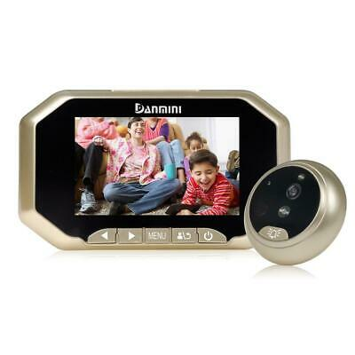 """3.0"""" Visual Monitor Home Security Door Peephole 145°Wireless Viewer Camera Video"""
