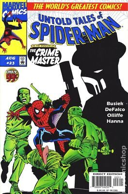 Untold Tales of Spider-Man #23 1997 VF Stock Image
