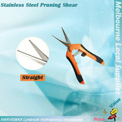 High Quality Stainless Steel Curved Pruner Garden Hand Trimmer Branch Cutter