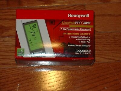 Honeywell TL8230A1003 LineVolt Pro 8000 Electronic Programmable Line Voltage