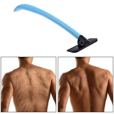 Back hair shaver manual do it yourself body trimmer removal razor manual back shaver long handle body remover shave do it yourself hair trimmer solutioingenieria Choice Image