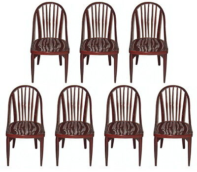 7 Jugendstil Sessel Thonet Set Of Seven Chairs Bistritz Hoffmann Prutscher 1925