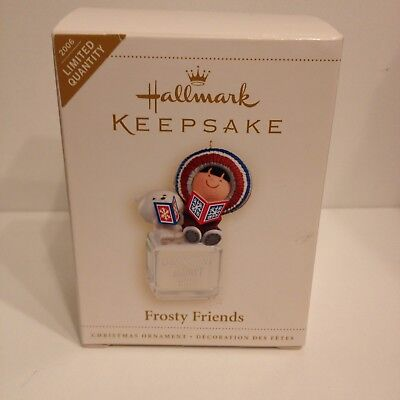 2006 Hallmark Keepsake Ornament Frosty Friends Limited Quantity Repaint NIB