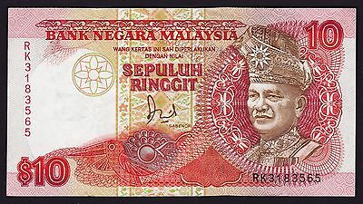 Malaysia 10 Ringgit 1989 Banknote P-29