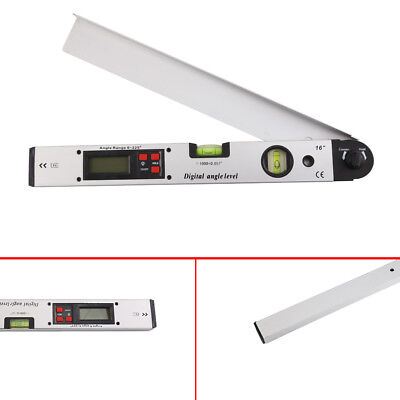 0~225°LCD Digital Protractor Inclinometer Angle Meter Spirit Level Finder Gauge