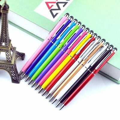 10 x PRO STYLUS WITH BALL POINT PEN TIP FOR All Mobile Phone iPad iPhone Tab