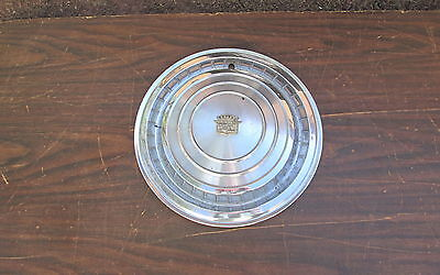 Vintage1960 Cadillac DeVille Hubcap Eldorado Fleetwood Caddy Very Good Condition